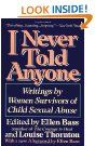 """""""I Never Told Anyone: Writing by Women Survivors of Child Sexual Abuse."""""""