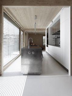 #architecture #design #interior design #windows - Maison Lente by karawitz