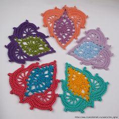 crochelinhasagulhas: Motivo em crochê