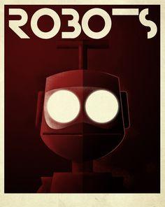 Robots by Grégoire GUILLEMIN, via Behance