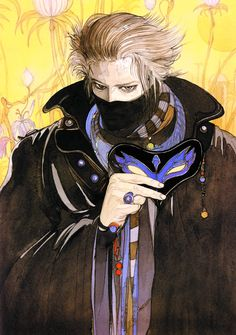 Art by Amano Yoshitaka. (Click to view larger image).