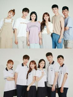 Ulzzang Korea, Ulzzang Girl, Drama Korea, Korean Drama, Teen Web, Teen Images, Teen Wallpaper, School Uniform Fashion, Web Drama