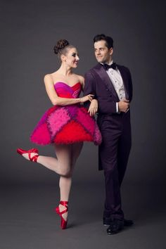 Tiler Peck and Robert Fairchild in Valentino at New York City Ballet