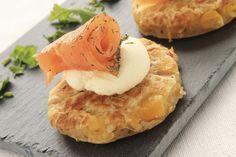 Découvrez les recettes Cooking Chef et partagez vos astuces et idées avec le Club pour profiter de vos avantages. http://www.cooking-chef.fr/espace-recettes/poissons-coquillages-et-crustaces/galettes-de-saumon-classiques