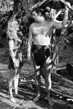 tarzan pictures | ... Joyce with Johnny Weissmuller in 'Tarzan and the Leopard Woman' (1946