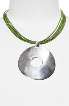 Free shipping and returns on Simon Sebbag Multistrand Leather Necklace at Nordstrom.com. A sculptural pendant is handcrafted from hollowed sterling silver for a dramatic statement that's comfortably lightweight. Fine Greek-leather cords lend a fresh, colorful finish.