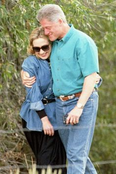 These Vintage Pics of Bill and Hillary Clinton Will Give You So.Many.Feels. - 1995 from InStyle.com