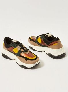 SELECTED HOMME Leather Gavin Trainers - New Wave - Clothing 924ad995d