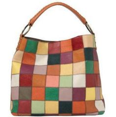 Lucky Brand and Stella   Max have both sold this leather and suede  patchwork hobo Hobo 5893b7379