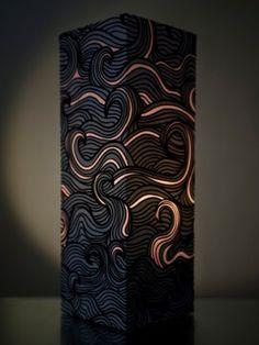 W-Lamp Designová papírová lampa 312_PEL