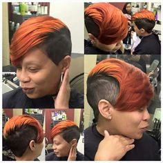 Hair If you are searching for hairstyles that may cause you to comfortable when you Shaved Side Hairstyles, Quick Weave Hairstyles, Dope Hairstyles, My Hairstyle, Tapered Hairstyles, Hairstyle Ideas, Short Sassy Haircuts, Cute Hairstyles For Short Hair, Black Girls Hairstyles