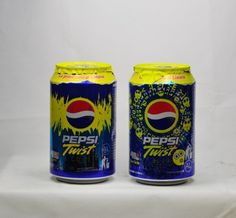 Pepsi Cans -