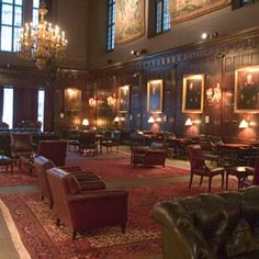 London, Harvard Club - best libraries on the planet