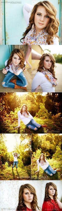 Amanda Holloway Photography Posing seniors #photogpinspiration