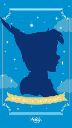 Peter Pan iPhone 4 Wallpaper