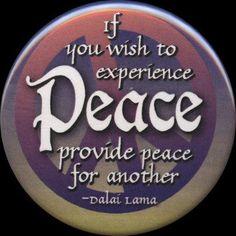 Dalai Lama on peace Hippie Peace, Happy Hippie, Spiritual Messages, Spiritual Wisdom, Peace And Harmony, Peace And Love, Peace Fingers, Give Peace A Chance, Peace On Earth