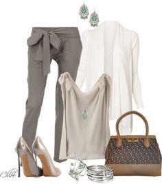 Hermosos pantalones y hermosisimos aros!!