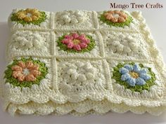 Mango Tree Crafts: Crochet Baby Blanket