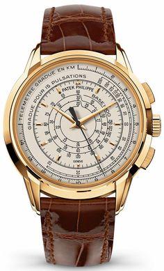 Patek Philippe Multi-Scale Chronograph – Юбилейный хронограф Патек Филипп | LuxuriousWatches.ru