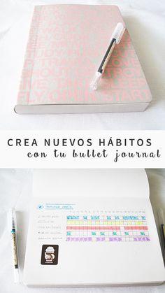 Crea nuevos Hábitos con tu Bullet Journal. El paso a paso! #habit #tracker #ideas