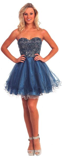 Prom Dresses Sweet 16 Dresses under $200<BR>10131<BR>Short sweetheart neckline dress with applique and bead work on bodice