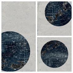 cool constellation prints