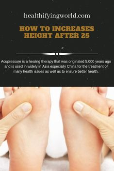 Do you want to grow taller at any age? Acupressure can help you achieve the desired height. In this article, you will find the best acupressure points and techniques to increase height naturally. Check all acupressure points for height here. Acupressure Therapy, Acupressure Treatment, Acupressure Points, Increase Height After 25, Increase Height Exercise, Good Health Tips, Health And Beauty Tips, Get Taller Exercises, Month Workout Challenge