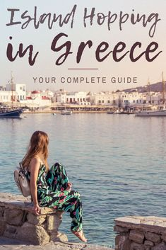 One Week Island Hopping in Greece_ Here's a complete travel itinerary, where to go, when to visit and how to see as many of the Cyclades Islands in Southern Europe! #greece #europetravel