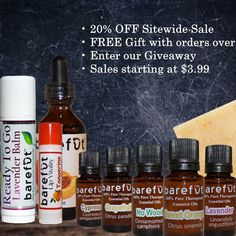 *** 4 BIG Offers You Can't Miss *** 1. 20% OFF Sitewide Sale  2. FREE Gift with orders over $15 3. Enter our Giveaway 4. Flash Sales starting at $3.99  https://barefut.com/?a=420