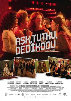 Ask Tutku Dedikodu - Les Gazelles - 2014 - BRRip Film Afis Movie Poster