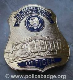 Badge US Secret Service Unif. Division, via Flickr.