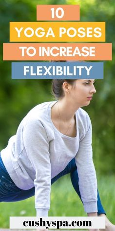 If your goal is to be more flexible in yoga these poses will help you! Try incorporating these stretches into your yoga routine to gain flexibility! Increase Flexibility, Yoga For Flexibility, Yoga Benefits, Health Benefits, Yoga Inspiration, Fitness Inspiration, Yoga Facts, How To Get Better, Yoga Motivation