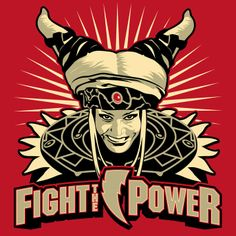 FIGHT THE POWER! T-Shirt $10 Power Ranger tee at ShirtPunch today only!