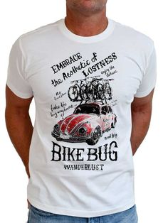 """Bike Bug. Another new Cycology Tee release. """"Take the trails & roads you've never been on & end up at the places you've always wanted to go to"""". #cycling #cycology"""