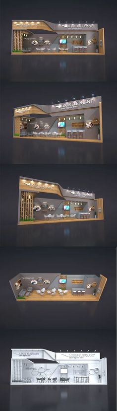 EXHIBITION STAND PRC by fasihlisan | 3DOcean