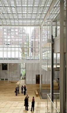 The Morgan Library by Renzo Piano in New York, New York, USA. Interior. Photo: Michel Denancé.