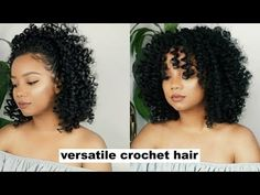 As all we know that Crochet braids is one of the popular Protective Hairstyle. This Braiding hairstyles is changing with the passage of time. Now the crochet braids we're seeing today are very different from the ones that were popular back in the late Straight Crochet Braids, Curly Crochet Hair Styles, Crochet Braid Styles, Curly Crochet Braids, Wand Curl Crochet Hair, Crochet Braids Hairstyles Curls, Curled Hairstyles, Straight Hairstyles, Black Hairstyles