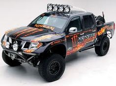Tricked out Trucks! Check out these totally tricked out Nissan Frontiers and Titans! Lowered, jacked-up or factory stock, Nissan trucks are tough and reliable! Nissan 4x4, Nissan Trucks, 4x4 Trucks, Custom Trucks, Cool Trucks, Hummer, Nissan Frontier, Nissan Navara D40, Truck Mods