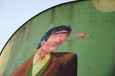 Street Art Silos #Catania by @visitsicilyop - ph. Alfredo Palumbo