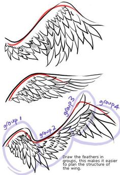 Drawing anime wings art 51 ideas to drawing wings Drawing anime wings art 51 ideas Anime Drawings Sketches, Pencil Art Drawings, Anime People Drawings, Random Drawings, Fantasy Drawings, Easy Drawings, Drawing Techniques, Drawing Tips, Drawing Ideas