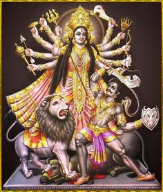 Maa Durga Image, Durga Kali, Shiva Shakti, Navratri Wallpaper, Allu Arjun Images, Durga Images, Kali Goddess, Hindu Dharma, Hindu Art