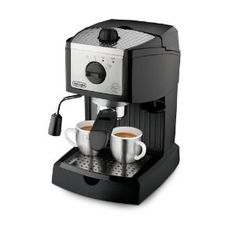 De'Longhi EC155 15 BAR Pump Espresso and Cappuccino Maker. I may need one of these to tide me over until my next Paris visit.