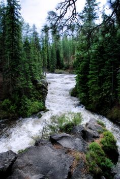 Mountains/river streams