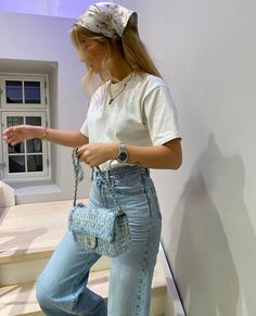 style Source by Vintage outfits Mode Outfit ideen outfits Source Style trendy vintage Smart Casual Outfit, Formal Casual Outfits, Summer Business Casual Outfits, Casual Styles, Ootd Summer Casual, Trendy Style, Casual Wear, Aesthetic Fashion, Aesthetic Clothes