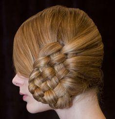 long hair side braid weave