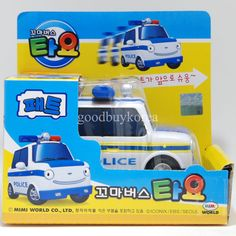 The Little Bus Tayo (Pat, Patrol Car) Korea Famous TV Animation Toy in Toys & Hobbies | eBay