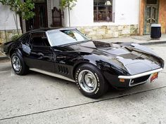 not a '72...1969 Corvette Stingray...my favorite, just like this - glossy black.