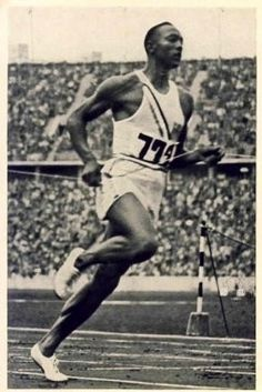 Jesse Owens wins 4 gold medals 1936