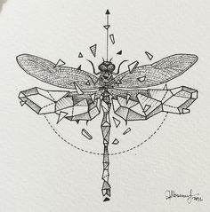 Art by Kerby Rosanes. To Asian cultures, this transformation also has a similar deeper meaning. To them, it represents embracing change and seeing it as positive and freeing. It represents strength, joy and bravery. The dragonfly is a creature of both the water and the air. The air in dragonfly tattoo designs signifies freedom