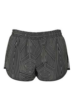 Reflective Mesh Runner Shorts by Ivy Park Top Shop